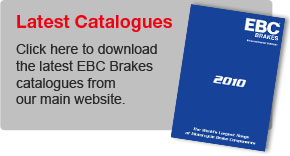 Email us for the latest EBC Brakes Catalogue